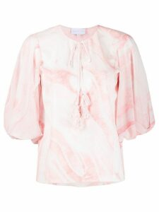 Noon By Noor Monmouth ruffled blouse - PINK