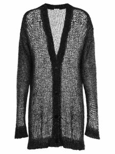 Miu Miu oversized sequin-embellished cardigan - Black