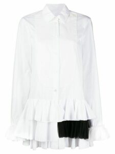Viktor & Rolf ruffle trimming shirt - White