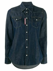 Dsquared2 button-front denim shirt - Blue