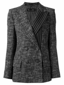 Oscar de la Renta space dye blazer - Grey