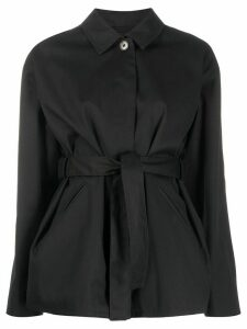 Filippa K Seine belted jacket - Black