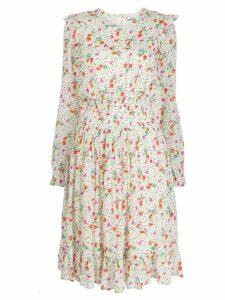 Essentiel Antwerp Vlannen floral midi dress - NEUTRALS