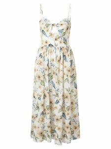 BEC + BRIDGE Fleurette floral-print midi dress - Multicolour