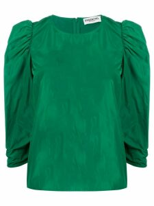Essentiel Antwerp three-quarter sleeve blouse - Green