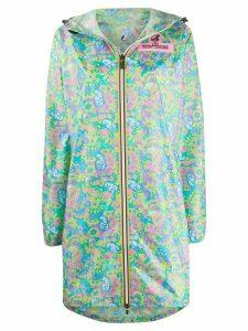 Marc Jacobs x K-Way The Windbreaker coat - Blue