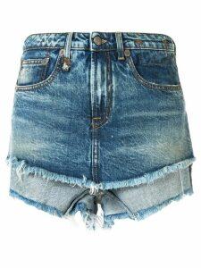 R13 denim shorts - Blue