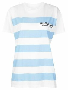 Helmut Lang striped T-shirt - White