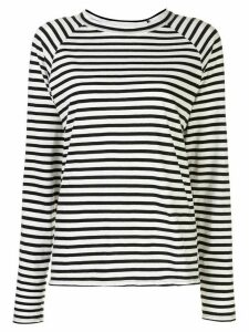 Nili Lotan striped raglan T-shirt - White