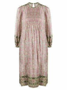 Isabel Marant Étoile floral-print flared dress - PINK