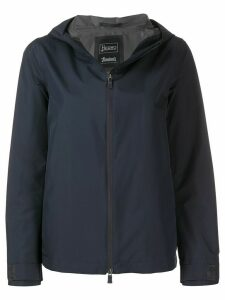 Herno hooded rain jacket - Blue