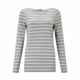 Jigsaw Retro Stripe Jersey