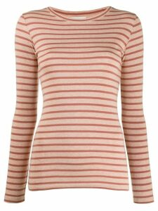 Vince striped print top - PINK