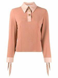 Nanushka Agnes blouse - PINK