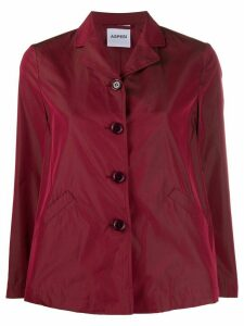 Aspesi fitted buttoned jacket - Red