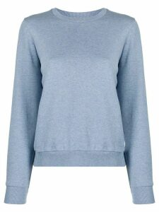 A.P.C. long sleeve sweatshirt - Blue