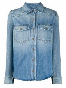 FRAME denim button-up shirt - Blue
