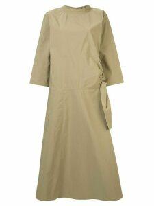 Sofie D'hoore tie waist dress - Brown