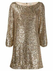 Zadig & Voltaire sequin dress - GOLD