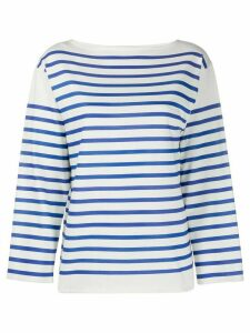 Philosophy Di Lorenzo Serafini striped long-sleeve top - White
