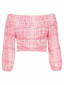 Olympiah printed Riva cropped top - PINK
