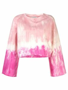 Apparis Satya tie-dye sweatshirt - PINK