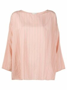 Forte Forte striped relaxed fit blouse - PINK