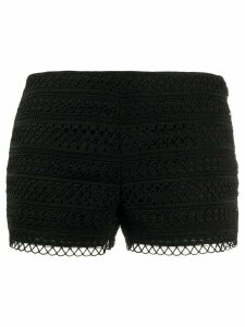Charo Ruiz Ibiza lace shorts - Black