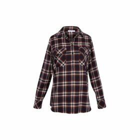 Gerard Darel Checkered Marla Shirt