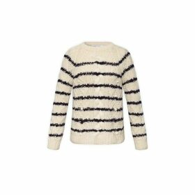 Gerard Darel Striped Merinos Wool Summer Sweater