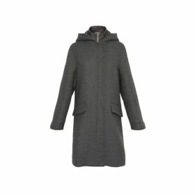 Gerard Darel Pamina Coat With Integrated Puffer Jacket