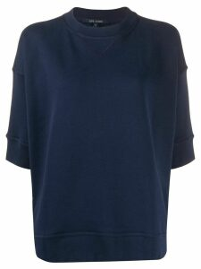 Sofie D'hoore crew neck short sleeve sweatshirt - Blue