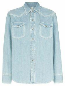 Sunflower Rodeo denim shirt - Blue