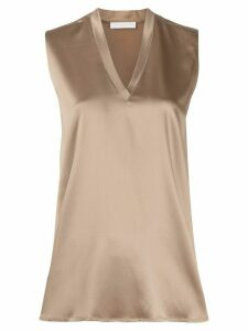 Fabiana Filippi v-neck blouse - Brown