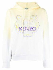 Kenzo gradient Tiger hoodie - Yellow
