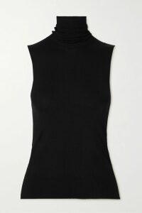 Miu Miu - Cropped Fair Isle Wool Sweater - Cream