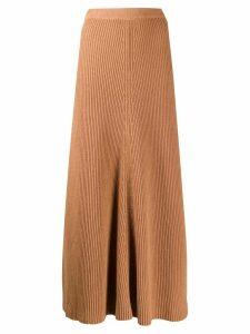 Joseph knitted maxi skirt - Brown