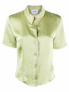 Nanushka button-up shirt - Green