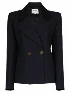 RE/DONE 80s wool-blend blazer - Blue