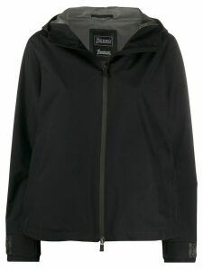 Herno hooded water-repellent jacket - Black