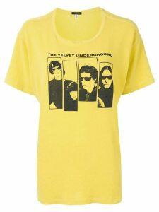R13 graphic print T-shirt - Yellow