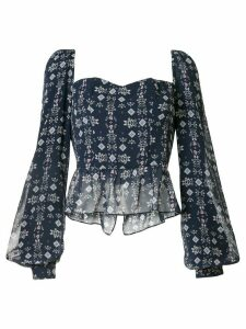 We Are Kindred Alice bustier blouse - Blue