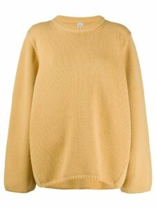 Totême Marans oversized jumper - Yellow