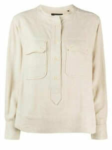 Isabel Marant Tecoyo pocket shirt - NEUTRALS