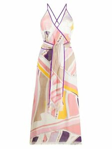 Emilio Pucci Ciwara print maxi dress - PINK