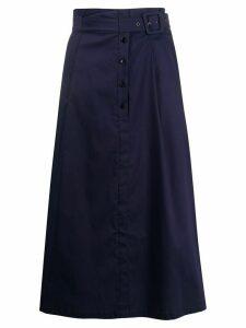 Patrizia Pepe high-waisted skirt - Blue