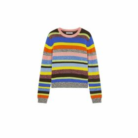 Chinti & Parker Multicoloured Anni Stripe Wool-cashmere Sweater