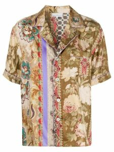 Pierre-Louis Mascia floral print shirt - Brown
