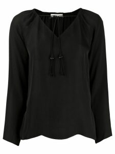Dorothee Schumacher drawstring neck blouse - Black