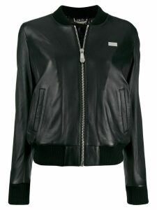Philipp Plein 20th anniversary bomber jacket - Black